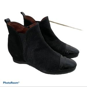 Hispanitas boots in mixed leather